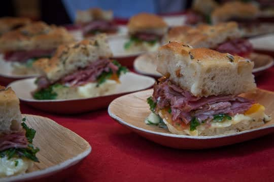 Sandwiches at Feast Portland 2014. Photo by Irvin Lin of Eat the Love.