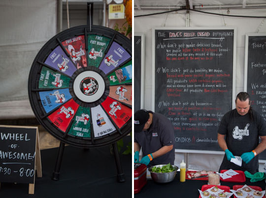 The Wheel of Awesome at Feast Portland. Photo by Irvin Lin of Eat the Love.