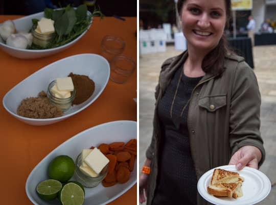 Tillamook serving up various grilled cheeses. Photos by Irvin Lin of Eat the Love.