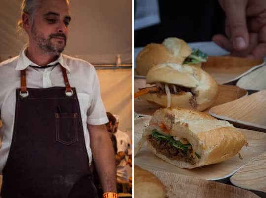 Chefs and Sandwiches at Feast Portland. Photos by Irvin Lin of Eat the Love.