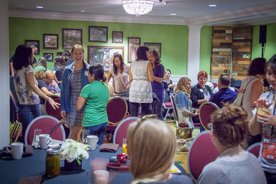 The Media Breakfast on day 2 of Feast Portland. Photo by Irvin Lin of Eat the Love.