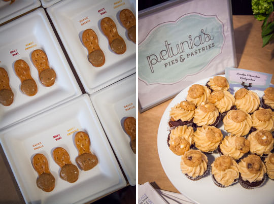 Peanut butter samples and gluten free baked goods at Oregon Bounty at Feast Portland. Photo by Irvin Lin of Eat the Love.