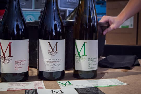 Wine at the Oregon Bounty event at Feast Portland. Photo by Irvin Lin of Eat the Love.