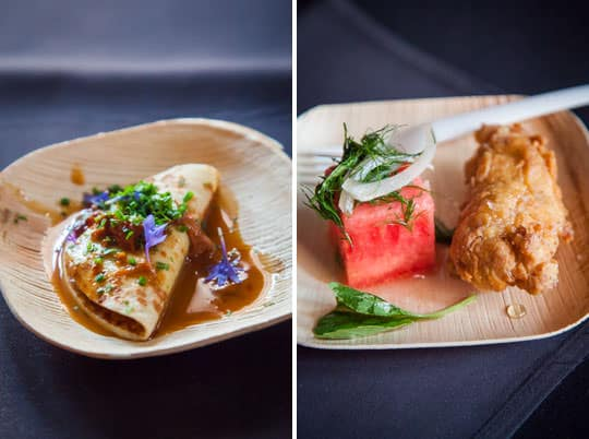 Crepe and Fried Chicken. Photos by Irvin Lin of Eat the Love.