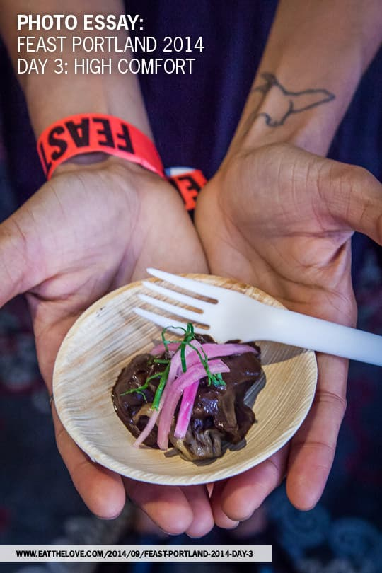 Feast Portland's High Comfort event. A photo essay by Irvin Lin of Eat the Love.