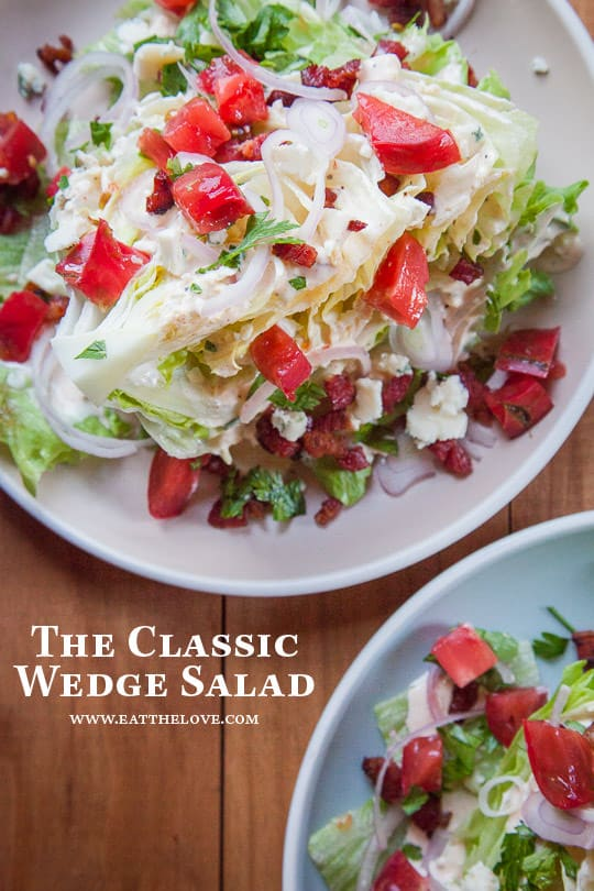 Wedge Salad, it's a classic for a reason