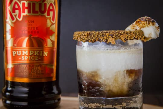 The S'mores Crunch Cocktail Recipe by Irvin Lin of Eat the Love