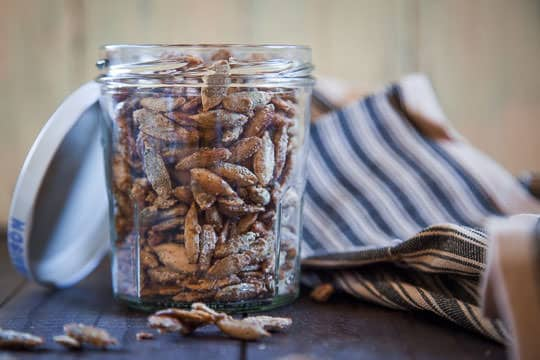 Candied Pumpkin Seeds by Irvin Lin of Eat the Love.