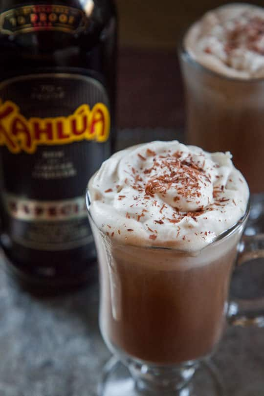 how to make mocha coffee with chocolate syrup