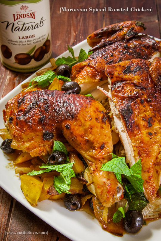Cooking with my Partner Makes the Moment: Moroccan Spiced Chicken [Sponsored Post]