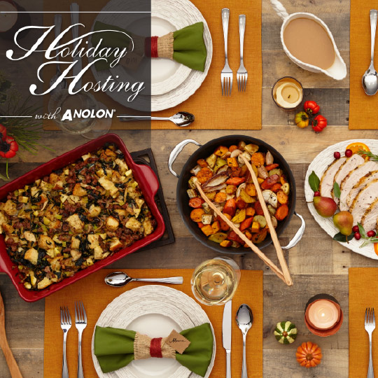 Holiday Hosting with Anolon giveaway!