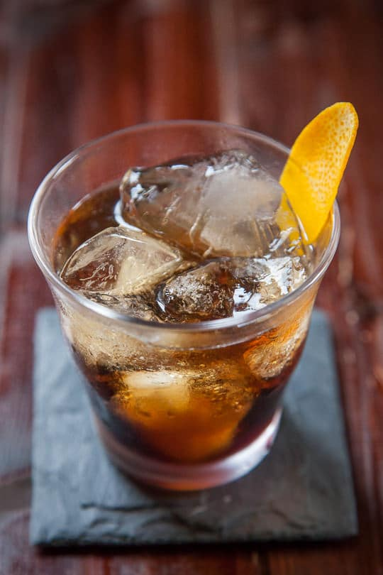 The Black and Orange Russian. Photo and recipe by Irvin Lin