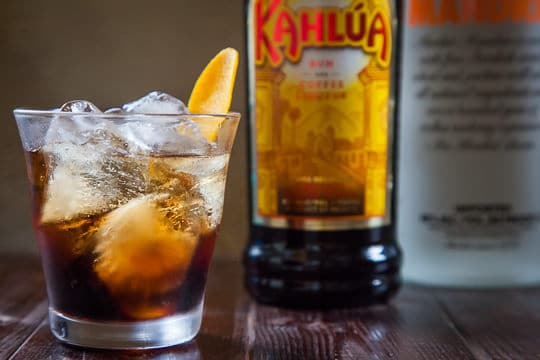 The Black Russian Cocktail with Orange. Photo by Irvin Lin of Eat the Love.