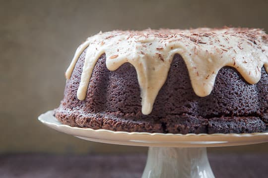 Chocolate Kahlúa Cake. Photo and recipe by Irvin Lin of Eat the Love.