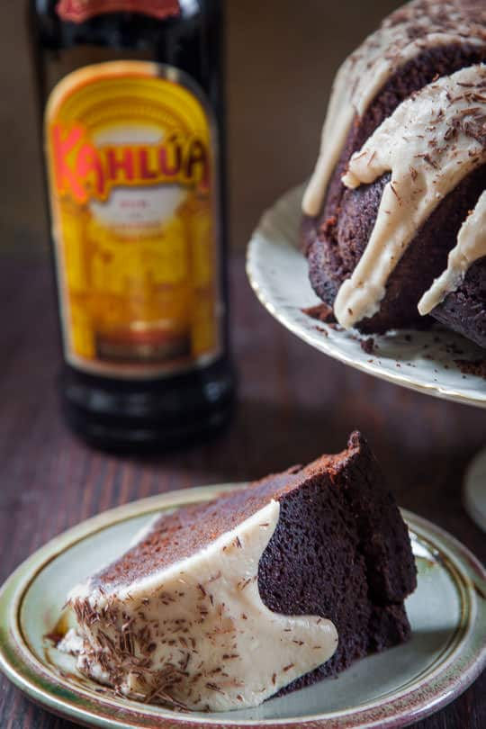 Chocolate Kahlua Cake Recipe. Photo by Irvin Lin of Eat the Love.