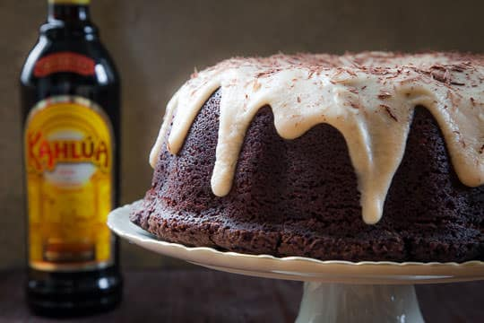 Chocolate Kahlua Bundt Cake. Photo and recipe by Irvin Lin of Eat the Love.