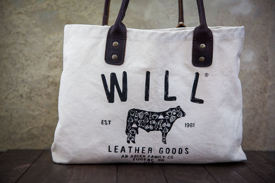 Will Leather Goods Tote Bag. Photo by Irvin Lin of Eat the Love.