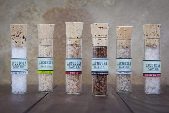 Jacobsen Salt Company 6 Sea Salt Gift Set. Photo by Irvin Lin of Eat the Love.