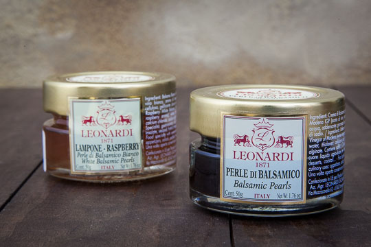 Leonardi's balsamic pearls. Photo by Irvin Lin of Eat the Love.