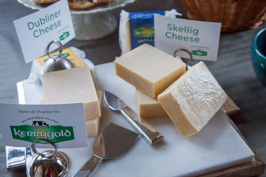 The selection of Kerrygold cheese at the Holiday Party 2014. Photo by Irvin Lin of Eat the Love.