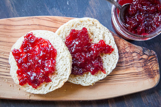 Strawberry Plum Jam Recipe. Photo and recipe by Irvin Lin of Eat the Love.