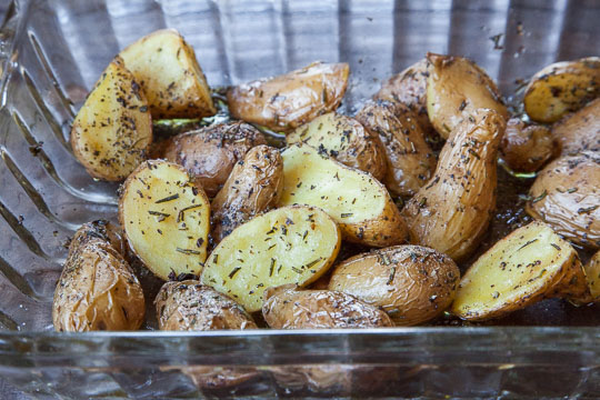 Easy Roasted Potatoes. Photo and recipe by Irvin Lin of Eat the Love.