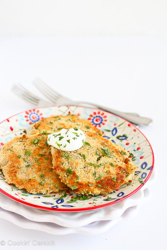 Cheesy Chile Mashed Potato Patties