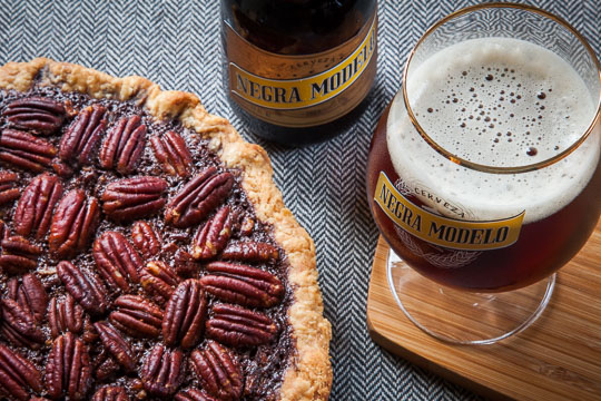 Mexican Chocolate Pecan Pie Recipe. Photo and recipe by Irvin Lin of Eat the Love.