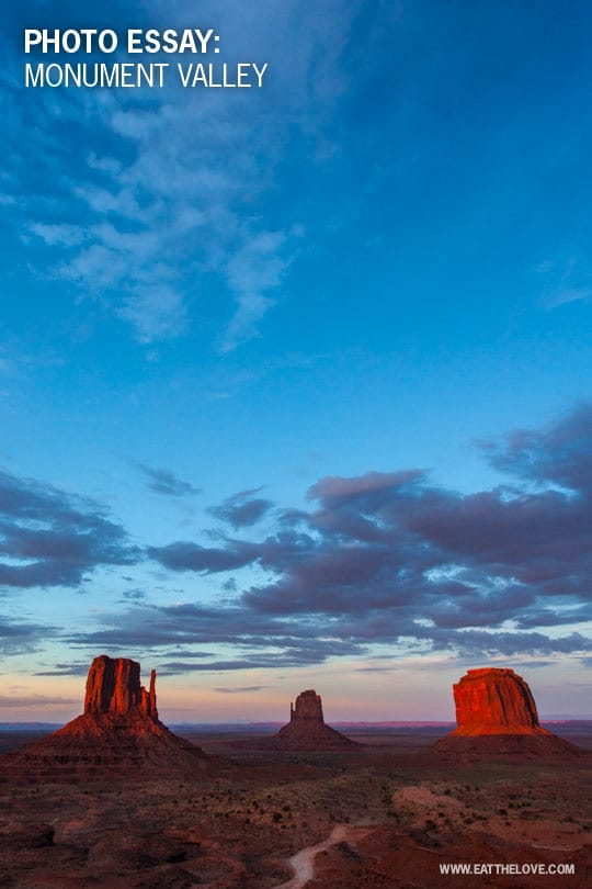 Monument Valley. Photo by Irvin Lin of Eat the Love.