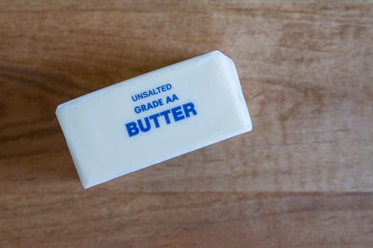 How to get butter to room temperature fast. Photo and tip by Irvin Lin of Eat the Love.