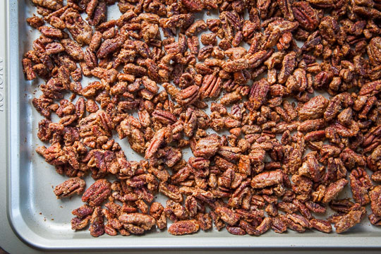 Spiced Pecans Recipe. Photo and recipe by Irvin Lin of Eat the Love.