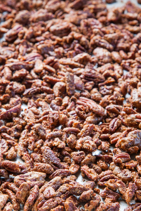 Candied Spiced Pecans Recipe. Photo and recipe by Irvin Lin of Eat the Love.