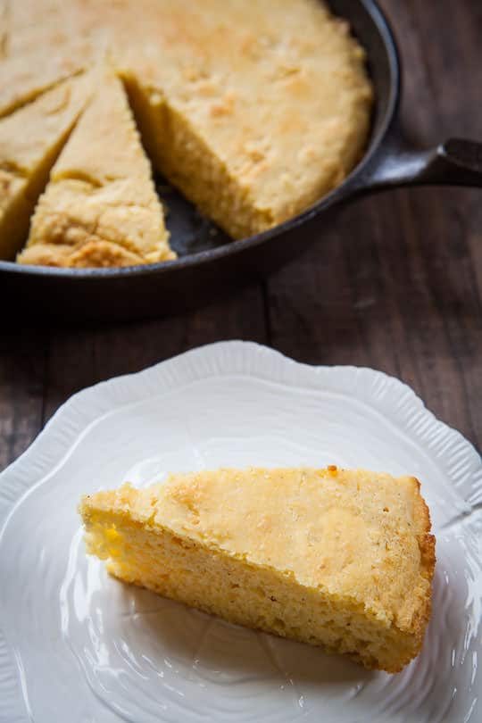 The best cornbread recipe I've ever made. Photo and recipe by Irvin Lin of Eat the Love.