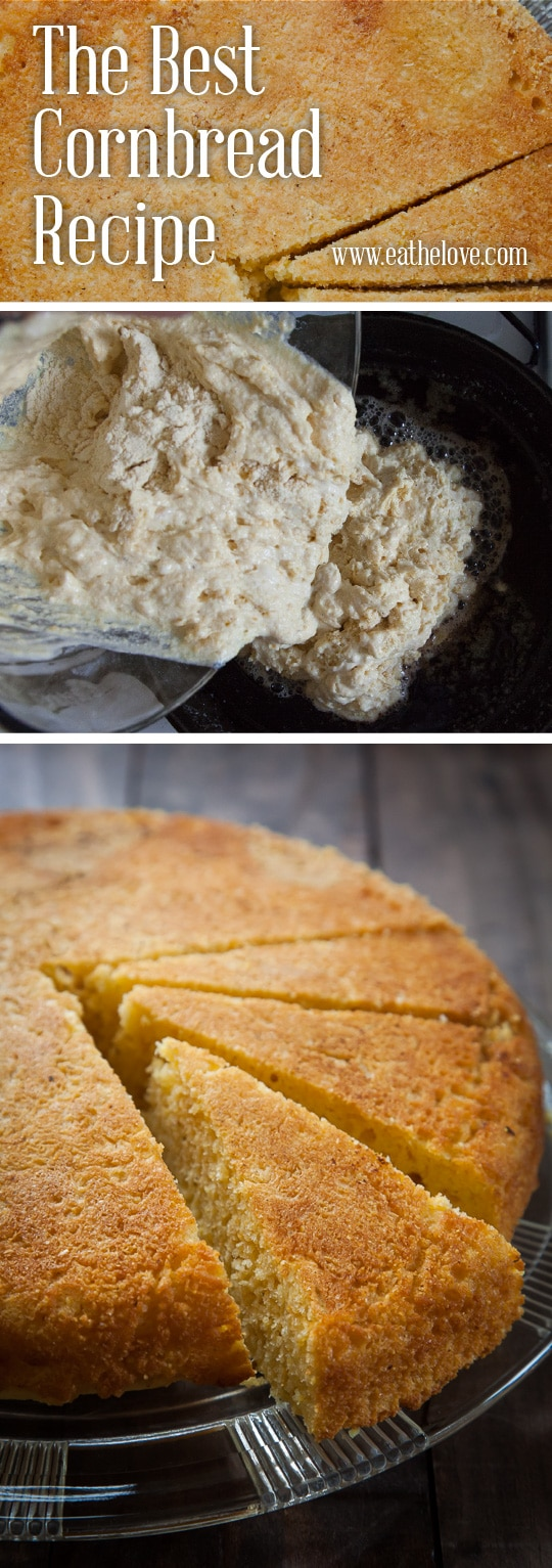 Best Cornbread Recipe EVER. Photo and recipe by Irvin Lin of Eat the Love.