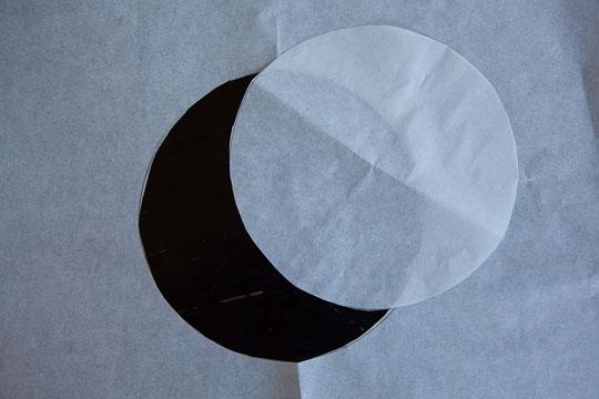 Use Round Cake Pan As Outline