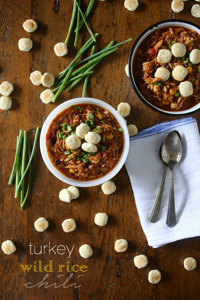 Turkey Wild Rice Chili