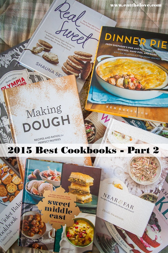 Best Cookbooks 2015 (day 2).