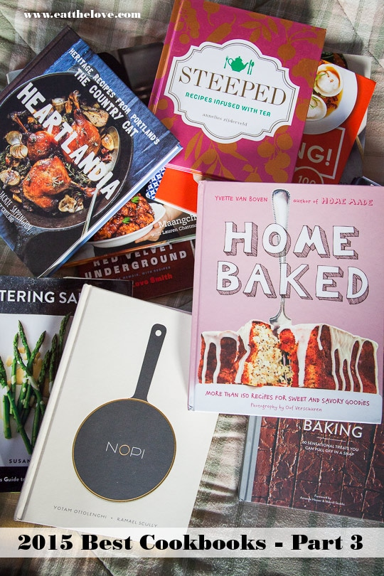 Best 2015 Cookbooks, Part 3