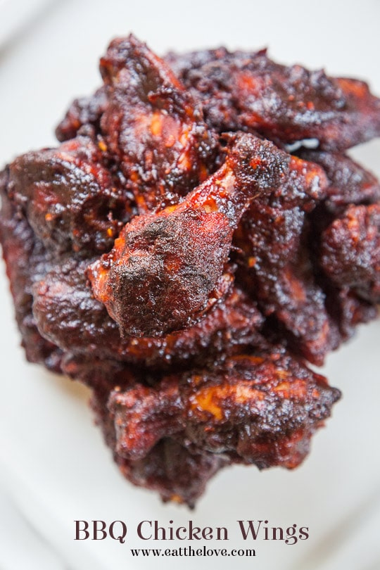 BBQ Chicken Wings Recipe. Photo and recipe by Irvin Lin of Eat the Love.
