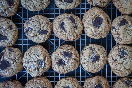 The Best Oatmeal Chocolate Chip Cookie! Photo and recipe by Irvin Lin of Eat the Love.