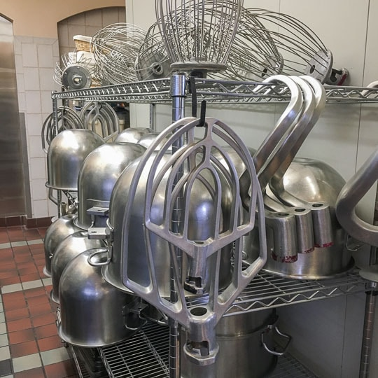Baking Tools at the Culinary Institute of American in Greystone. Photo by Irvin Lin of Eat the Love.