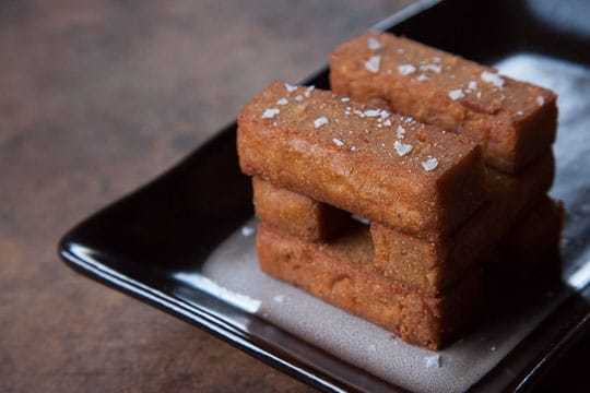 Panisse (Chickpea Fries) recipe. Photo and recipe by Irvin Lin of Eat the Love.