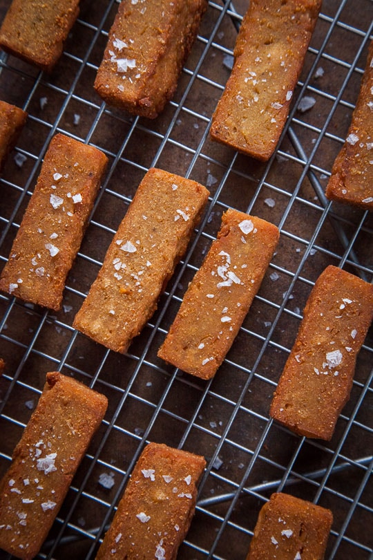 Panisse also known as Chickpea Fries. Photo and recipe by Irvin Lin of Eat the Love.