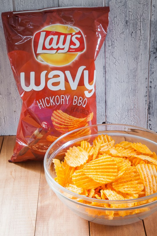 LAY's Wavy Hickory BBQ Potato Chips. Photo by Irvin Lin of Eat the Love.