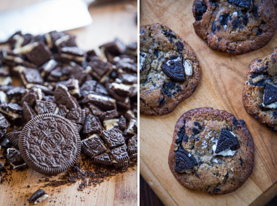The Cookies and Cream Cookie. Photo and Recipe by Irvin Lin of Eat the Love.