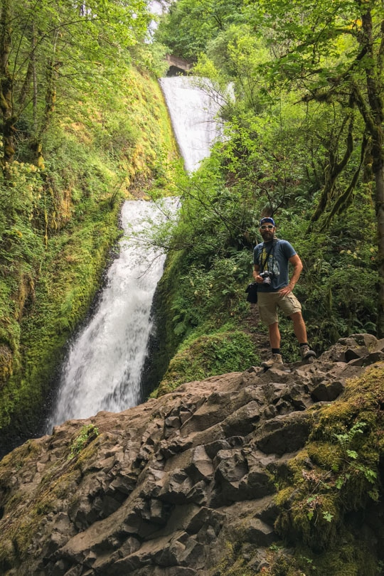 Waterfalls on the Historic Columbia River Highway