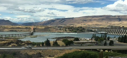 The Columbia River and The Dalles Bridge