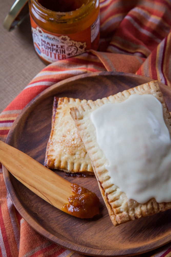 Homemade Pumpkin Butter Pop-Tarts are fun to make and eat!
