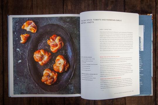 Italian-Spice Tomato and Parmesan Garlic Pretzel Knots