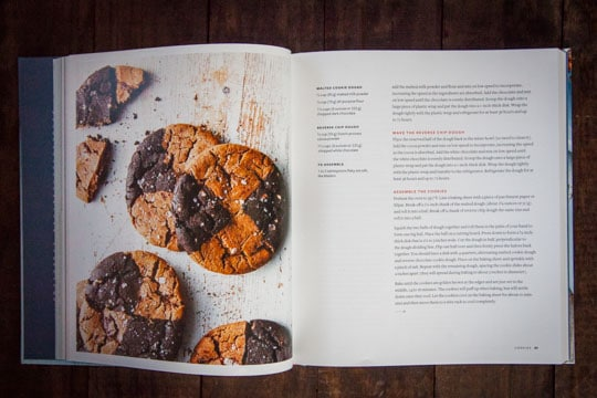 Malted Chocolate Chip and Reverse Chip Cookies